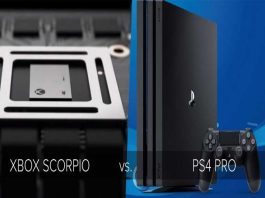 ps4 pro vs xbox one scorpio