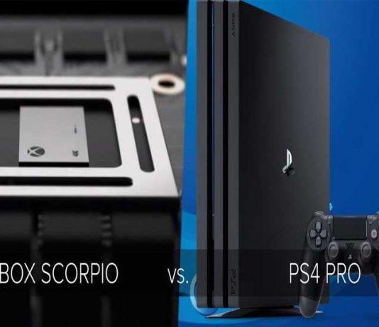 ps4 pro vs xbox one scorpio