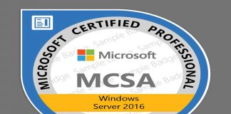 certificação windows server 2016 mcsa