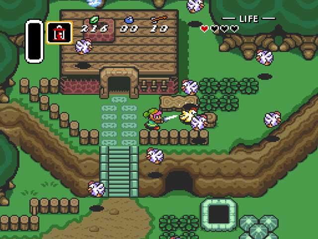 Zelda, Link of the Past